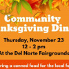 Community Thanksgiving at the Fairgrounds