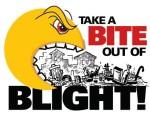 Take a bite out of blight logo