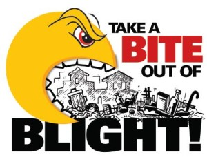 Take a bite out of blight logo