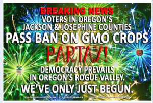 Breaking News GMO Banned Oregon Counties