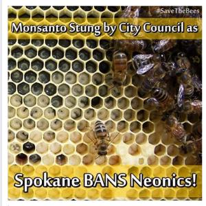 Spokane Bans Neonics