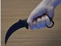 Karambit knife Credit to Wikipedia free encyclopedia