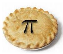 Pi on pie