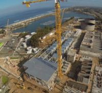 $1 billion dollar desalination plant in San Diego under construction